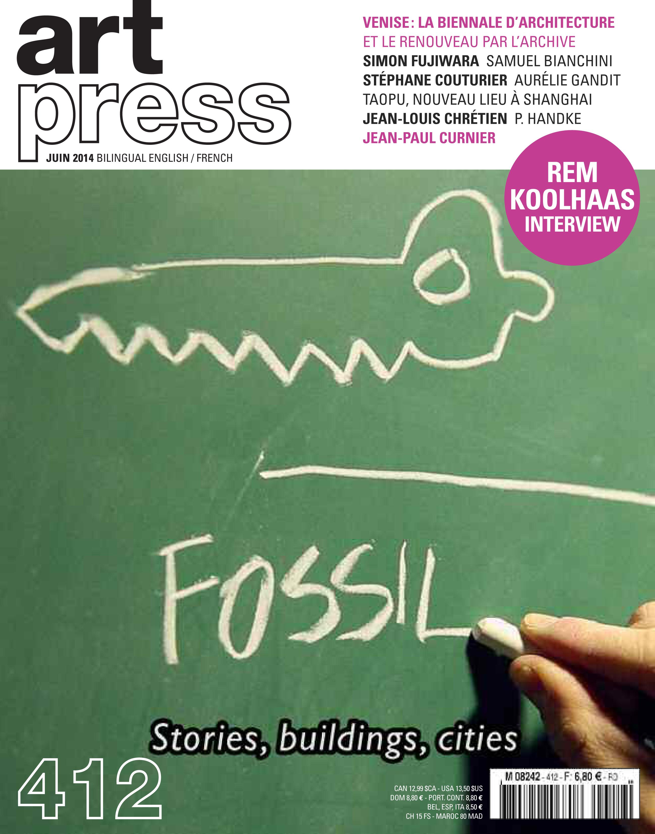 Art Press N°412 | Juin 2014