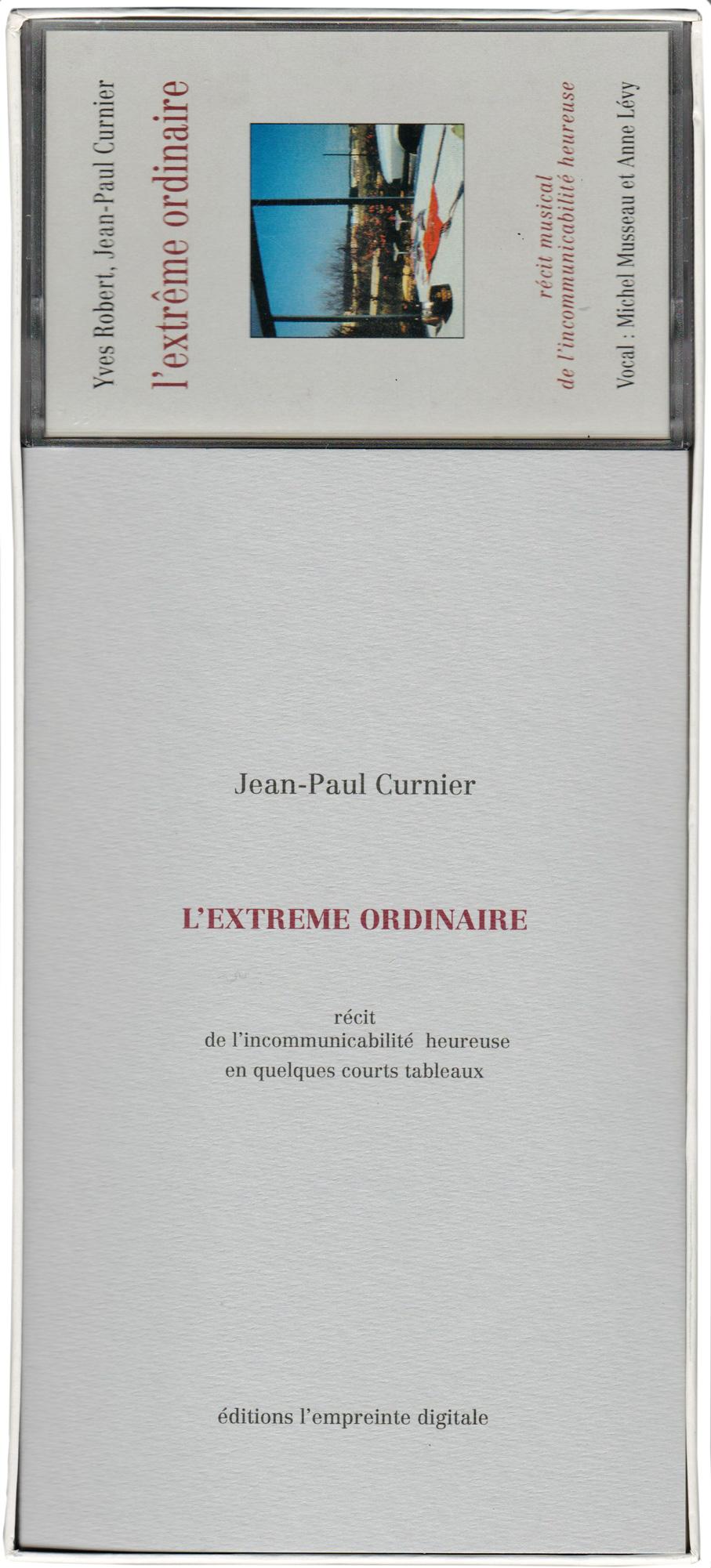 L'extrême ordinaire | Jean-Paul Curnier